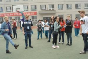丹麦学生来访